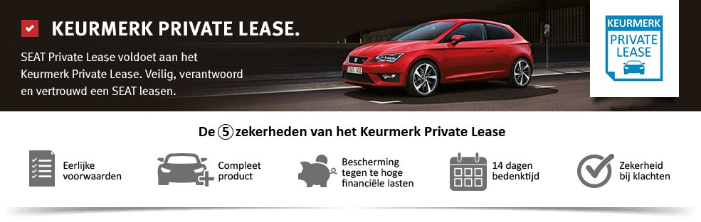 keurmerk seat private lease